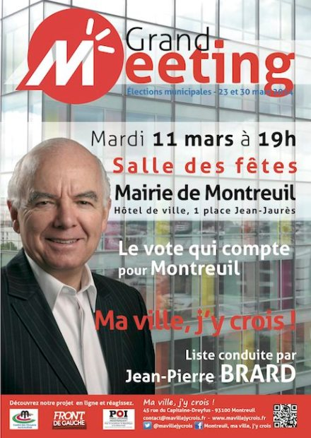 MEETING JP Brard Montreuil