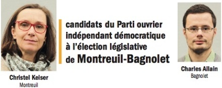 Montreuil Bagnolet candidats POID 2